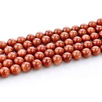 Goldstein Perlen, Goldsand, rund, natürlich, verschiedene Größen vorhanden, Bohrung:ca. 1mm, verkauft per ca. 15 ZollInch Strang