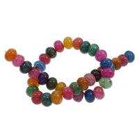 Natürliche Drachen Venen Achat Perlen, Drachenvenen Achat, Rondell, 14x9mm-13x8mm, Bohrung:ca. 1mm, ca. 39PCs/Strang, verkauft per ca. 15.5 ZollInch Strang
