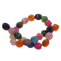 Natürliche Drachen Venen Achat Perlen, Drachenvenen Achat, verschiedene Größen vorhanden & facettierte, keine, Bohrung:ca. 1mm, verkauft per ca. 15 ZollInch Strang