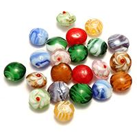 Chevron Perle, gemischt, 15-17x14-17x8-12mm, Bohrung:ca. 1.5-2mm, 5Taschen/Menge, ca. 50PCs/Tasche, verkauft von Menge
