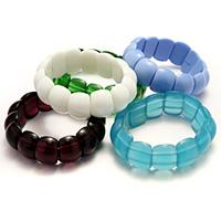 gemischte Materialien Armband, für Frau, 14x18x8mm, Länge:ca. 7 ZollInch, 10SträngeStrang/Menge, verkauft von Menge