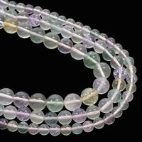 lila Fluorit Perle, rund, natürlich, verschiedene Größen vorhanden, Grad AAA, verkauft per ca. 15.5 ZollInch Strang
