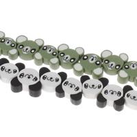 Harz Schmuckperlen, Bär, Volltonfarbe, keine, 11x9x4mm, Bohrung:ca. 1mm, Länge:ca. 16 ZollInch, 5SträngeStrang/Tasche, ca. 50PCs/Strang, verkauft von Tasche