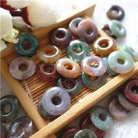Natürliche Indian Achat Perlen, Indischer Achat, Kreisring, 15x10mm, 20PCs/Tasche, verkauft von Tasche