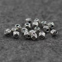 Bali Sterling Silber Perlen, Thailand, rund, verschiedene Größen vorhanden & facettierte, verkauft von Tasche