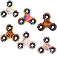 Finger Hand Spinner Gyroskop, ABS Kunststoff, mit Zinklegierung, verschiedene Stile für Wahl, 75x70mm, 81x42mm, verkauft von PC
