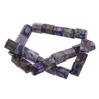 Feuerachat Perle, 12x14mm, Bohrung:ca. 1mm, ca. 25PCs/Strang, verkauft per ca. 14.5 ZollInch Strang