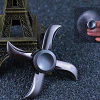 Finger Hand Spinner Gyroskop, Aluminium, plattiert, keine, frei von Nickel, Blei & Kadmium, 60-75mm, verkauft von PC