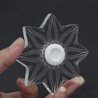Finger Hand Spinner Gyroskop, Acryl, verschiedene Stile für Wahl, frei von Nickel, Blei & Kadmium, verkauft von PC