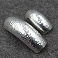 925 Sterling Silber gebogene Rohr Perlen, verschiedene Größen vorhanden, verkauft von PC