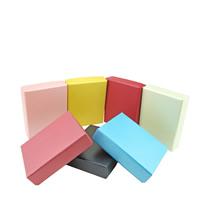 Papier Schmucksetkasten, Fingerring & Ohrring & Halskette, mit Schwamm, Rechteck, keine, 100x80x25mm, 70PCs/Menge, verkauft von Menge