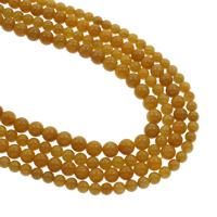 Perle, rund, natürlich, verschiedene Größen vorhanden, Bohrung:ca. 1mm, verkauft per ca. 15.5 ZollInch Strang