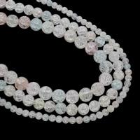 Runde Kristallperlen, Geknister Achat, verschiedene Größen vorhanden, Bohrung:ca. 1mm, verkauft per ca. 15.5 ZollInch Strang