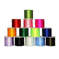 Kristall Faden elastisches Garn, mit Kunststoffspule, keine, 0.8mm, 50m/Spule, verkauft von Spule