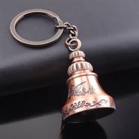 Schlüsselanhänger, Zinklegierung, mit Eisen Ring, Big Ben, antike Kupferfarbe plattiert, frei von Blei & Kadmium, 29x50mm, Innendurchmesser:ca. 30mm, verkauft von Strang