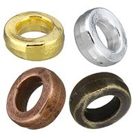 Zinklegierung Verbindungsring, Rondell, plattiert, keine, frei von Nickel, Blei & Kadmium, 14x5mm, Innendurchmesser:ca. 8mm, 100PCs/Menge, verkauft von Menge