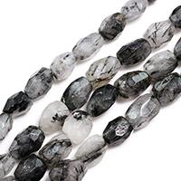 Perle, Klumpen, natürlich, verschiedene Größen vorhanden & facettierte, Bohrung:ca. 0.5-1mm, verkauft per ca. 16 ZollInch Strang