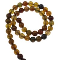 Natürliche Drachen Venen Achat Perlen, Drachenvenen Achat, rund, verschiedene Größen vorhanden, Bohrung:ca. 1mm, verkauft per ca. 15 ZollInch Strang