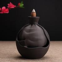 Porcelain Backflow Incense Burner, Porzellan, handgemacht, 110x120mm, verkauft von PC