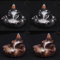 Porcelain Backflow Incense Burner, Porzellan, handgemacht, keine, 105x60x105mm, verkauft von PC