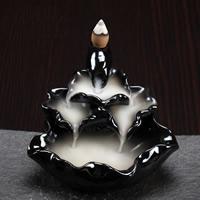 Porcelain Backflow Incense Burner, Porzellan, handgemacht, 122x125x78mm, verkauft von PC