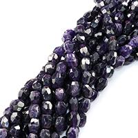 Natürliche Amethyst Perlen, Klumpen, Februar Birthstone & verschiedene Größen vorhanden & facettierte, Bohrung:ca. 0.5-1mm, verkauft per ca. 16 ZollInch Strang