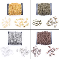 Eisen gemischt, mit Kunststoffspule, plattiert, keine, frei von Blei & Kadmium, 3x4mm, verkauft von Tasche