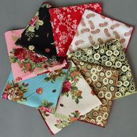 Unisex Taschentuch, Baumwolle, Quadrat, verschiedene Muster für Wahl, 230x230mm, verkauft von PC