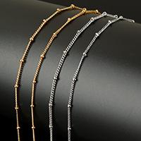 Edelstahl ovale Kette, mit Kunststoffspule, plattiert, verschiedene Größen vorhanden & Twist oval, keine, ca. 20m/Spule, verkauft von Spule