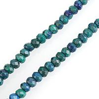 Lapislazuli Phönix Perle, Rondell, verschiedene Größen vorhanden & facettierte, verkauft per ca. 15 ZollInch Strang