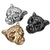 Zinklegierung Tier Perlen, Leopard, plattiert, keine, frei von Nickel, Blei & Kadmium, 9x10x7mm, Bohrung:ca. 1.5mm, 700PCs/Menge, verkauft von Menge