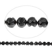Nicht-magnetische Hämatit Perlen, Non- magnetische Hämatit, 12.50x12x11.50mm, Bohrung:ca. 1mm, ca. 34PCs/Strang, verkauft per ca. 15.5 ZollInch Strang