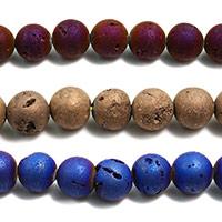 Achat Perlen, rund, verschiedene Größen vorhanden, keine, Bohrung:ca. 1mm, Länge:ca. 61 ZollInch, verkauft von Menge