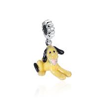 comeon® Schmuck Anhänger, Thailand, Hund, ohne troll & Emaille, 8x27mm, Bohrung:ca. 4.5-5mm, verkauft von PC