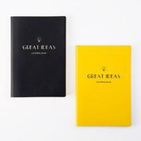 Notizbuch, PU Leder, mit Papier, Rechteck, mit Brief Muster, keine, 145x213x11mm, verkauft von PC