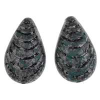 Acryl Schmuck Perlen, Tropfen, 19x31.50x12mm, Bohrung:ca. 2mm, ca. 125PCs/Tasche, verkauft von Tasche