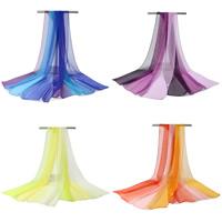 Mode Schal, Georgette, Kunstdruck, Streifen, keine, 160x50cm, verkauft von Strang