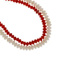 Natürliche Korallen Perlen, keine, 4.5x3mm-5.5x3.5mm, Bohrung:ca. 1mm, Länge:ca. 15.7 ZollInch, 10SträngeStrang/Tasche, verkauft von Tasche