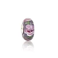 Lampwork Perlen European Stil, Rondell, antik silberfarben plattiert, einadriges Kabel Messing ohne troll, 8x14mm, Bohrung:ca. 4.5mm, 10PCs/Tasche, verkauft von Tasche