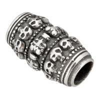 Edelstahl Magnetverschluss, Schwärzen, 29x16x16mm, Innendurchmesser:ca. 8mm, 10PCs/Menge, verkauft von Menge