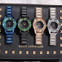 Damen Armbanduhr, Edelstahl, mit Glas & Zinklegierung, plattiert, für Frau, keine, 40x14mm, Länge:ca. 8 ZollInch, verkauft von PC