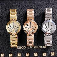 Damen Armbanduhr, Edelstahl, mit Glas & Zinklegierung, plattiert, verschiedene Stile für Wahl & für Frau & mit Strass & doppelseitig, 35x10mm, Länge:ca. 8 ZollInch, verkauft von PC