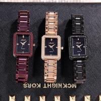 Damen Armbanduhr, Edelstahl, mit Glas & Zinklegierung, plattiert, für Frau & mit Strass, keine, 26x9mm, Länge:ca. 8 ZollInch, verkauft von PC