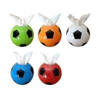 Tücherbox, ABS Kunststoff, Fussball, keine, 165x160mm, 2PCs/Menge, verkauft von Menge