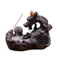 Porcelain Backflow Incense Burner, Porzellan, Drachen, 190x110x155mm, verkauft von PC