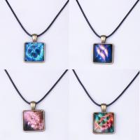 KRISTALLanhänger, Zinklegierung, mit Kristall, antike Bronzefarbe plattiert, verschiedene Muster für Wahl & für Frau & glänzend, frei von Nickel, Blei & Kadmium, 32x22x20mm, Bohrung:ca. 2-3mm, verkauft von PC