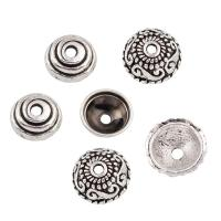 Zinklegierung Perlenkappe, antik silberfarben plattiert, verschiedene Stile für Wahl, frei von Blei & Kadmium, 50PCs/Tasche, verkauft von Tasche