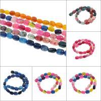 Natürliche Drachen Venen Achat Perlen, Drachenvenen Achat, keine, 10x16x10mm, Bohrung:ca. 2mm, 25PCs/Strang, verkauft per ca. 15.3 ZollInch Strang