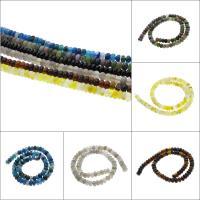 Achat Perlen, Rondell, verschiedenen Materialien für die Wahl, 8x5mm, Bohrung:ca. 1.5mm, ca. 75PCs/Strang, verkauft per ca. 15 ZollInch Strang