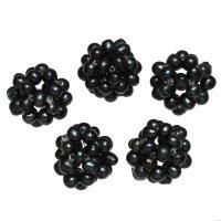 Ball Cluster Zuchtperlen, Natürliche kultivierte Süßwasserperlen, rund, 15-20mm, verkauft von PC